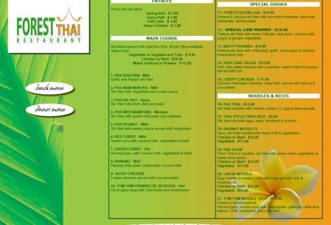 Forest Thai Restaurant