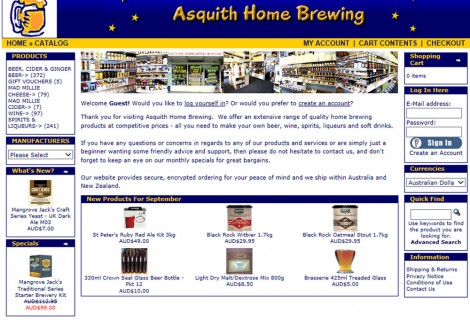 Asquith Home Brewing